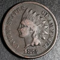 1875 INDIAN HEAD CENT - VG VERY GOOD Details