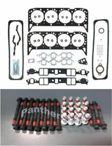 Mahle Cylinder Head Gasket Set & Bolts for Chevy GMC 5.7 350 VIN-K TBI 1987-1996