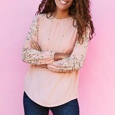 NWT Women's Matilda Jane Dose Of Floral Top Size Large