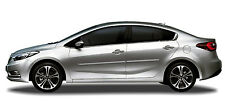 BODY SIDE Moldings PAINTED With Chrome Trim Insert For KIA FORTE SEDAN 2014-2017
