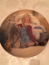"Vintage Knowles Fine China Plate ""Annie And Sandy"" Collector's Plate"