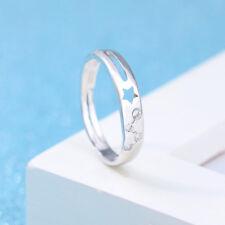 STELLA Ritaglio regolabile, anello di banda dello Zodiaco CRYSTAL