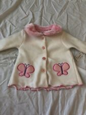 NWT Swiggles 0-3 months girl sweatshirt shirt butterflies spring Easter holiday