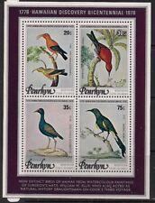 Penrhyn Stamp - Birds Stamp - NH