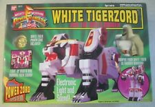 VINTAGE 1994 POWER RANGERS WHITE TIGER ZORD MIB SEALED BANDAI 2271