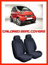 Totalmente adaptado cubiertas de asiento para Smart Fortwo 1998 - 2007 (P1)