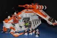 LEGO® STAR WARS™ 75021 PHASE I Custom Orange REPUBLIC GUNSHIP 212th Legion Ship