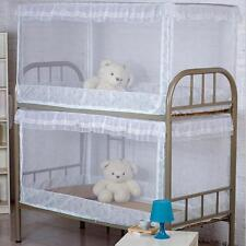 Mosquito Net Bed Canopy Netting Curtain Set Student Dorm Bunk Bed 90x190x90