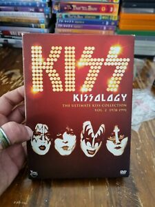 KISSology - The Ultimate Kiss Collection - 1978-1991 : Vol 2 (DVD, 2013)
