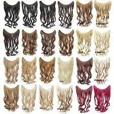 Hidden Halo Invisible Wire Piece Secret Miracle Wavy Curly Hair Piece Extensions