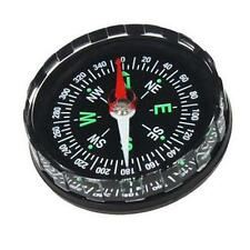 Mini Button Compass Pocket Survival Liquid Oil Filled Emergency Hiking Gear Tool