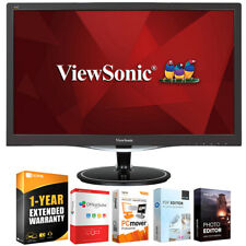 "ViewSonic HD 2ms 24"" WideLED Backlit LCD Monitor + Extended Warranty Pack"