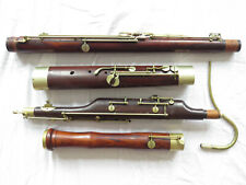 More details for hawkes french bassoon rosewood c1920 with bocal and case