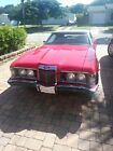 1973 Mercury Cougar  1973 Mercury Cougar Convertible Red RWD Automatic