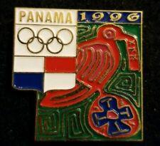 NOC Panama 1996 Atlanta OLYMPIC Games Bird Hat Lapel Pin