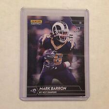 Mark Barron #204 Rams / Alabama MVP 1/1 Made 2017 Panini Instant Black NFL
