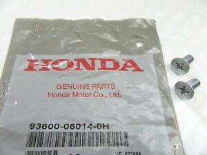 2 x Genuine OEM Honda Acura Disc Brake Retaining Rotor Screws