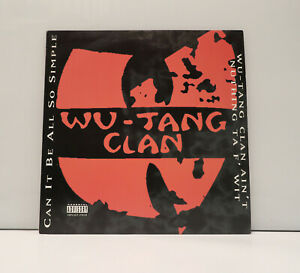 Wu Tang Clan - Can It Be All So Simple / Aint Nuthing To Fuck With 12Inch