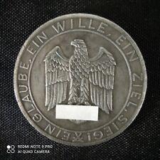 Insignes militaires allemand ww2 monnaie commémorative.