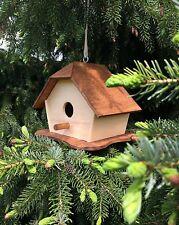 Casetta per uccelli, mangiatoia per uccelli, mangiatoia in legno, nido passeri