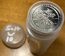 2020-W 25c Salt River Bay NP Quarter Privy Mark - Roll Of 40 Quarters