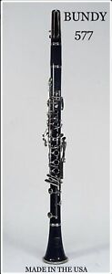 Rare! Vintage! New Bundy Resonite Clarinet w/ Hard Case