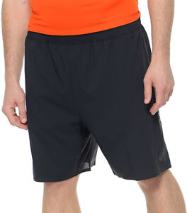 Asics Woven 9 Inch Mens Running Shorts - Black