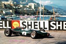 Denis Hulme Brabham BT20 Winner Monaco Grand Prix 1967 Photograph 6