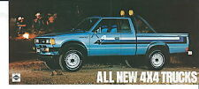NA-011 - 1980's Nissan 4x4 Trucks Vintage Promotional Postcard Automobile Car