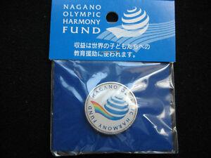1998 NAGANO OLYMPIC PIN BADGE HARMONY HUND PINS