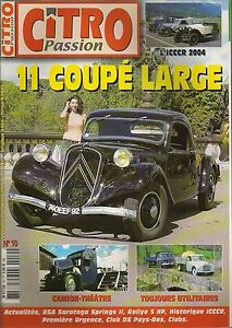 CITRO PASSION 10 TRACTION 11 FAUX CABRIOLET 1935 1936 1938 CITROEN U23 & P800