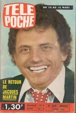 ▬►Télé Poche 369 (1973) JACQUES MARTIN_ANNY DUPEREY_STONE et CHARDEN