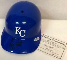 George Brett AUTOGRAPHED Kansas City Royals Replica Batting Helmet w/CoA!