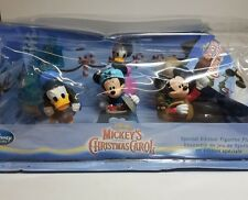 Disney Store Mickey's Christmas Carol PVC Figurine 6 Figure Playset Set