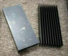 2 Aluminium Heatsink (150mm x 67mm x 25mm) IC LED Transistor Amplifier Cooling