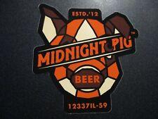 PROHIBITION PIG BREWERY waterbury vermont STICKER decal craft beer brewing