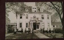 RPPC Phi Epsilon Pi Fraternity House Alpha XI Chapter Boston University ca. 1932