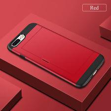 Shockproof Wallet Credit Card Pocket Holder Case Cover For iPhone 8 6 6s 7 Plus