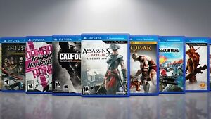 Replacement PlayStation VIta PSVITA Titles #-L Covers and Cases. NO GAMES!