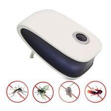 EU Plug Electronic Ultrasonic Mouse Bug Cockroach Repeller Reject Pest Control