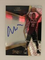 Caris LeVert RC Rookie On Card Auto 2016-17 Panini Select 15 /299 Autograph Nets