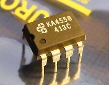 10x KA4558 dual operational amplifier, Samsung