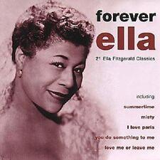 "ELLA FITZGERALD ""FOREVER ELLA"" CD NEUWARE"