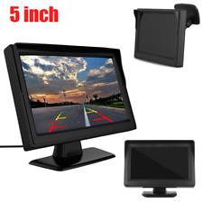 "5"" Digital TFT LCD Screen Rear View Monitor For Vehicle Car Reverse Camera VCR"