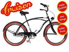 """26"""" pulgadas señores bicicleta beachcruiser citybike cityrad Cruiser vintage 3 pasillos"""
