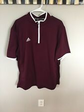 Adidas Men's Wind Shirt Color: Maroon
