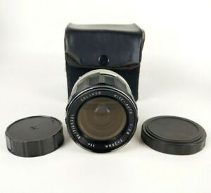 Soligor Wide-Auto 1: 2.8 F = 28mm with Caps and Case Made in Japan