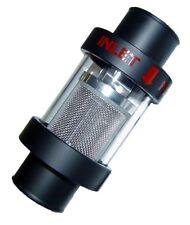 Radiator Coolant Filter Alloy See Thru Glass 32mm Hose Size Black