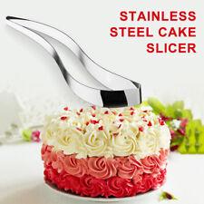 Stainless Steel Perfect Cake Slicer Cutter Serving Kitchen Utensils Gadget @