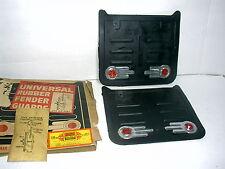 VINTAGE UNIVERSAL RUBBER FENDER GUARDS 1955 1958 GM FORD MOPAR 1960 HARLEY BMW